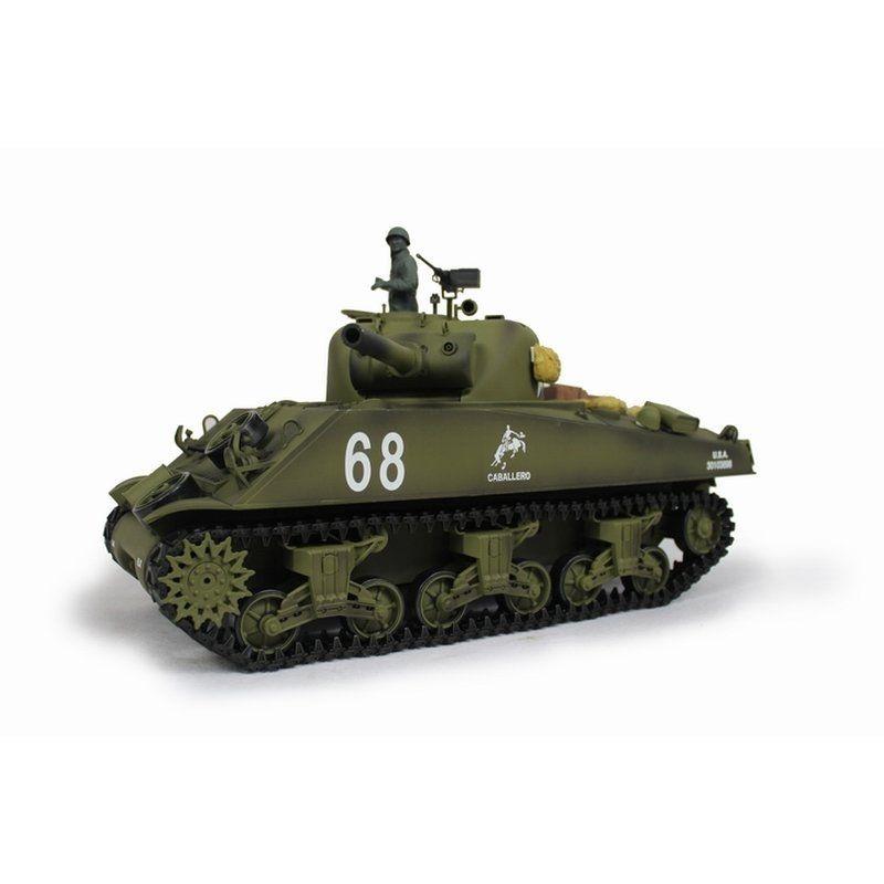 RC Panzer Sherman M4A3 BB Promotion Version 2,4GHz RTR