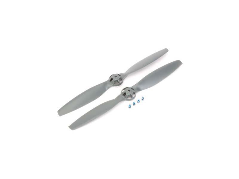 Blade 350 QX: Propeller Grau RD + LD