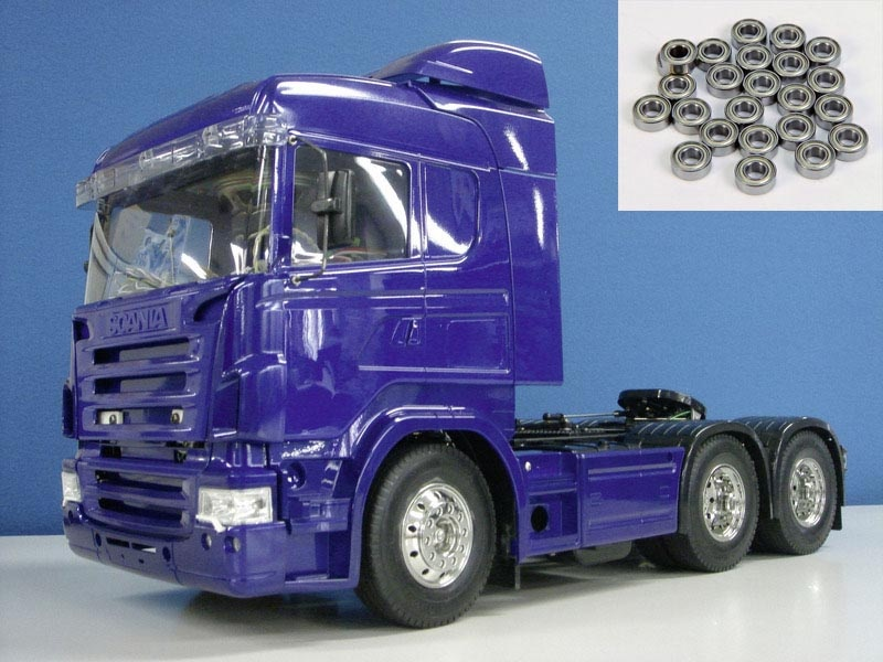 Scania R620 6x4 Highline blue edition + Kugellager