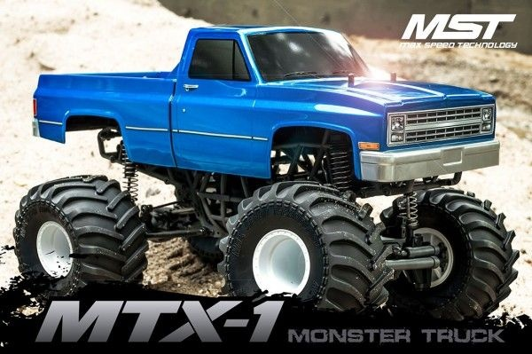 MTX-1 Monstertruck Brushless 4WD 1:10 RTR