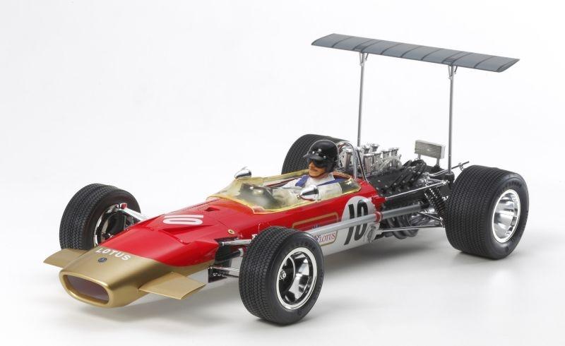 1:12 Lotus 49B GP 1968 mit Photoätzt.