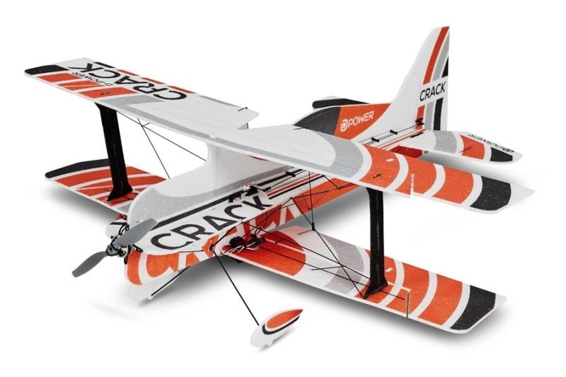 CRACK 3D Kit - 75 cm Doppeldecker-Shockflyer