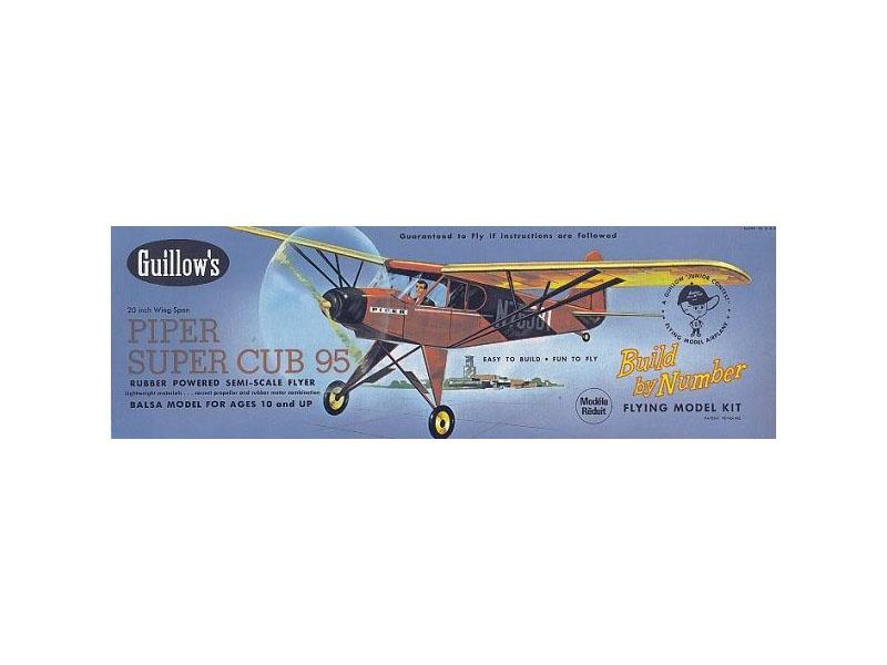 Piper Super Cub Balsabausatz