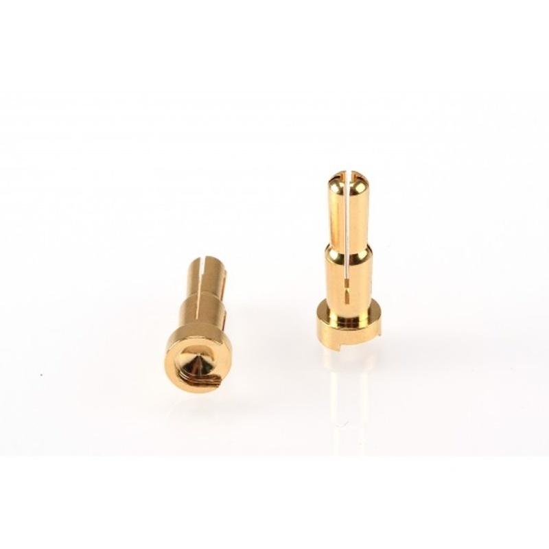 Dual Gold Stecker 4/5mm (2 Stück)