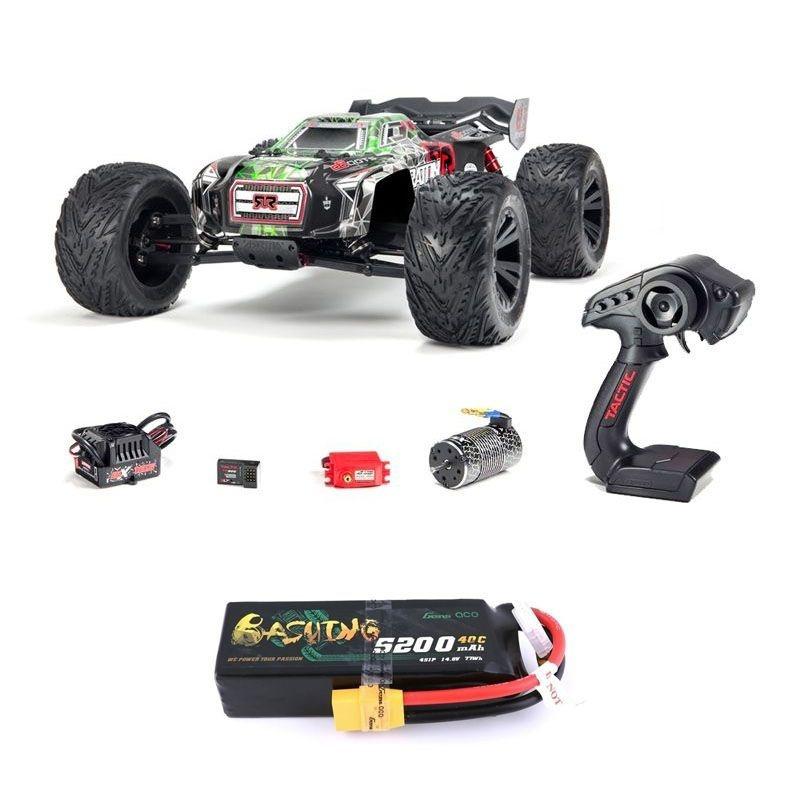 Kraton 6S BLX 4WD 1/8 Monster Truck RTR grün + 4S LiPo