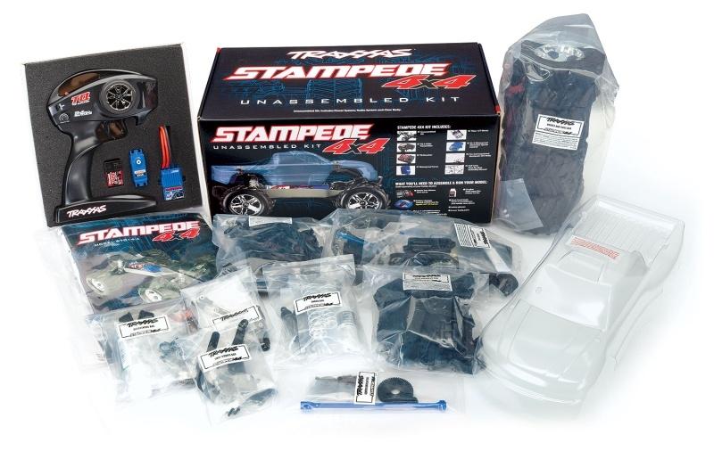 Stampede 4x4 Monster Truck 1/10 Bausatz inkl. Elektronik, TQ