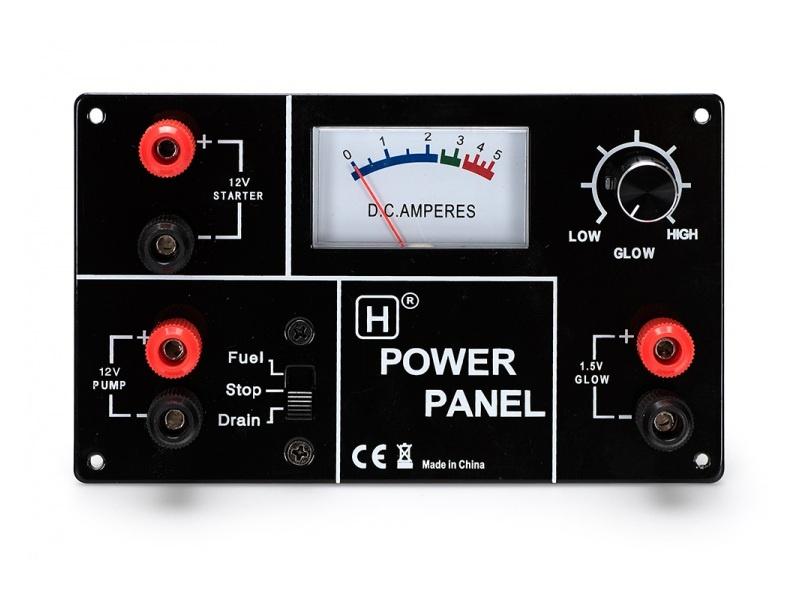 Powerpanel 12V - für Starter, Treibstoffpumpe, Glühstarter