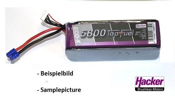 TopFuel LiPo 20C-ECO-X 5800mAh 3S