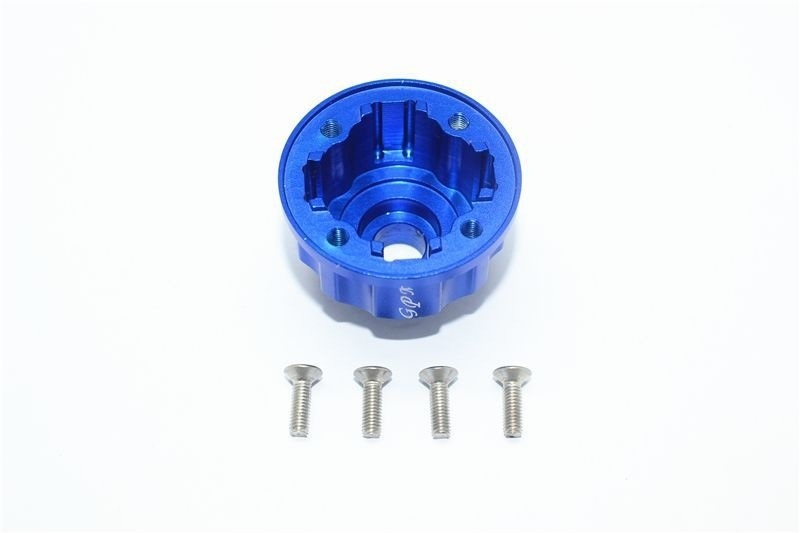 Aluminium Differentialgehäuse (blau) v/h/m E-Revo VXL 2.0