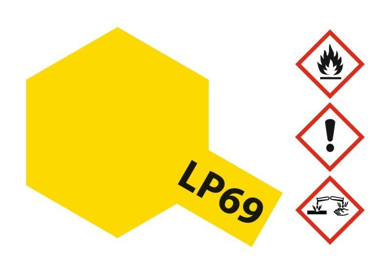 LP-69 Klar-Gelb Kunstharzfarbe 10ml