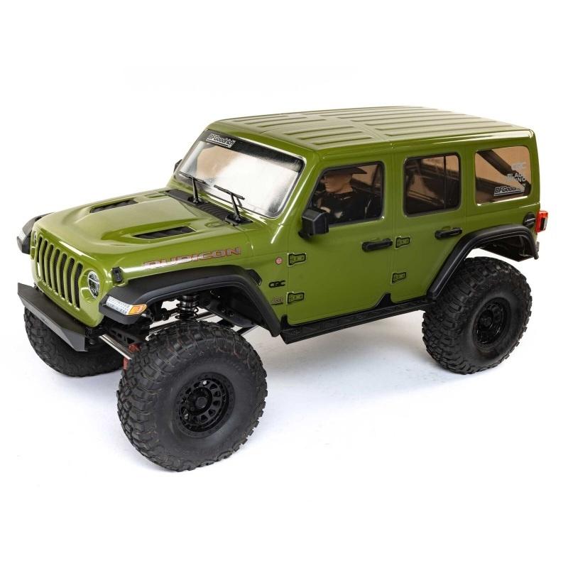 SCX6 Jeep JLU Wrange 1/6 4WD Scale Crawler RTR silber