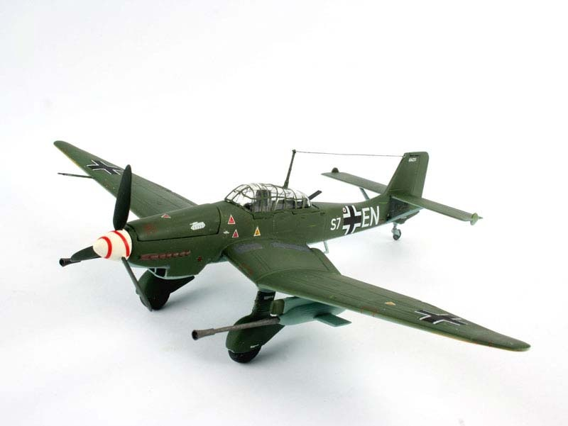 Junkers Ju 87 G/D Tank Buster 1:72