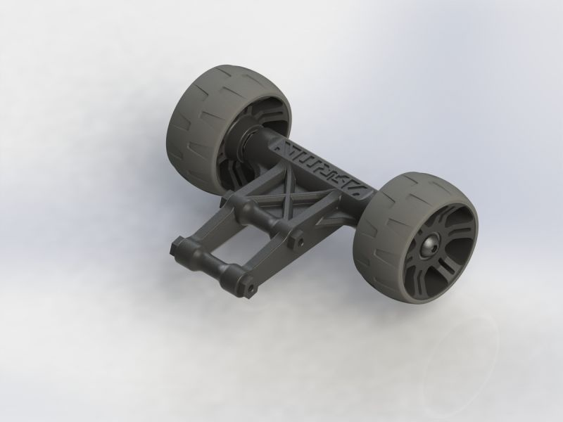 WHEELIE BAR SET Arrma 1:8 zb Outcast
