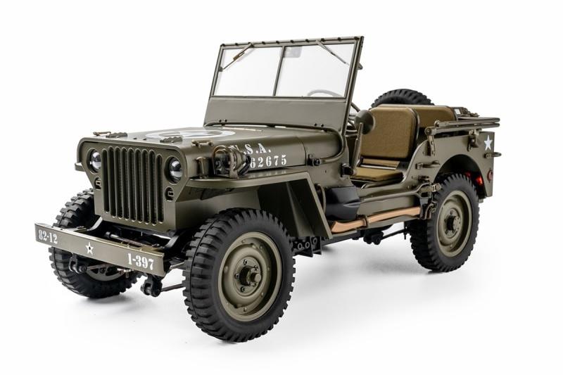 1941 Willys MB Scaler 1:12 - Crawler RTR 2.4GHz