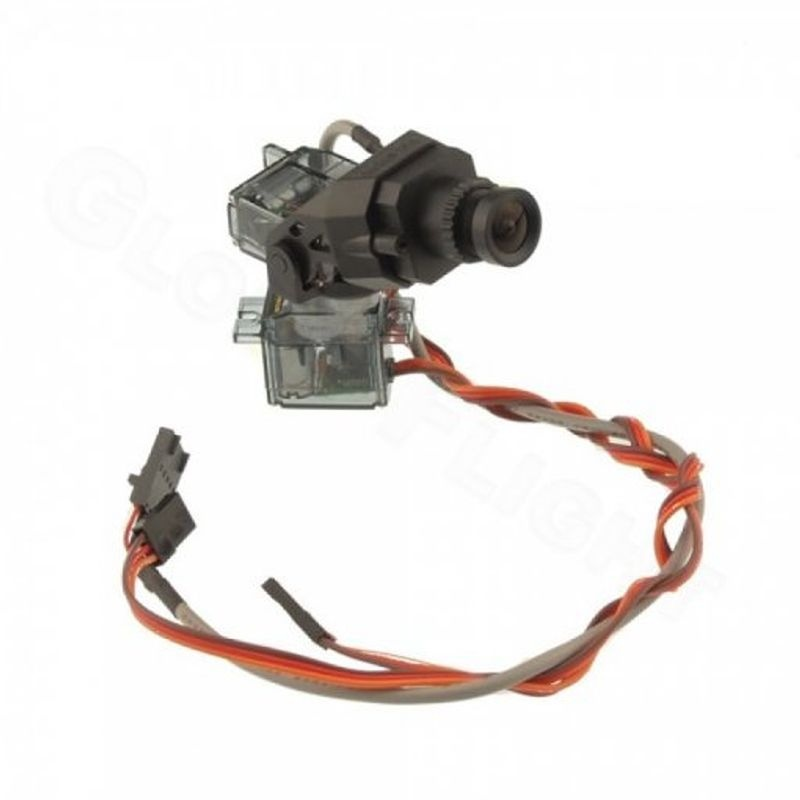 Fatshark FPV Kamera Pan/Tilt bundle CMOS 700TVL 5V