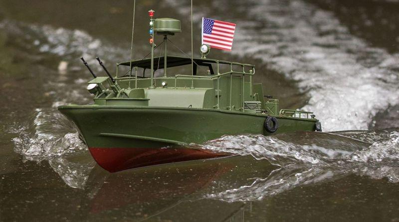Alpha Patrol Boat 21-inch: RTR