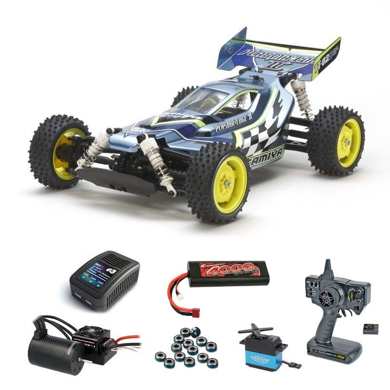 Plasma Edge II 1:10 4WD Buggy Brushless-Edition Komplett-Set