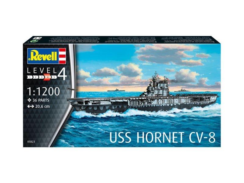 USS Hornet CV-8 Bausatz 1:1200