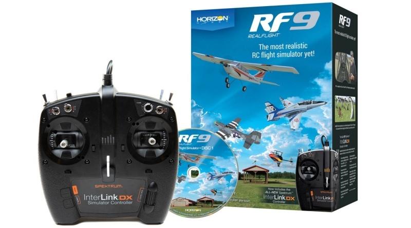 RF 9 Flugsimulator w/Spektrum Controller