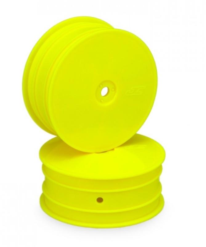 Mono 1/10 Buggy 2.2 Dish Felgen vorne 12mm für B64, B74 gelb