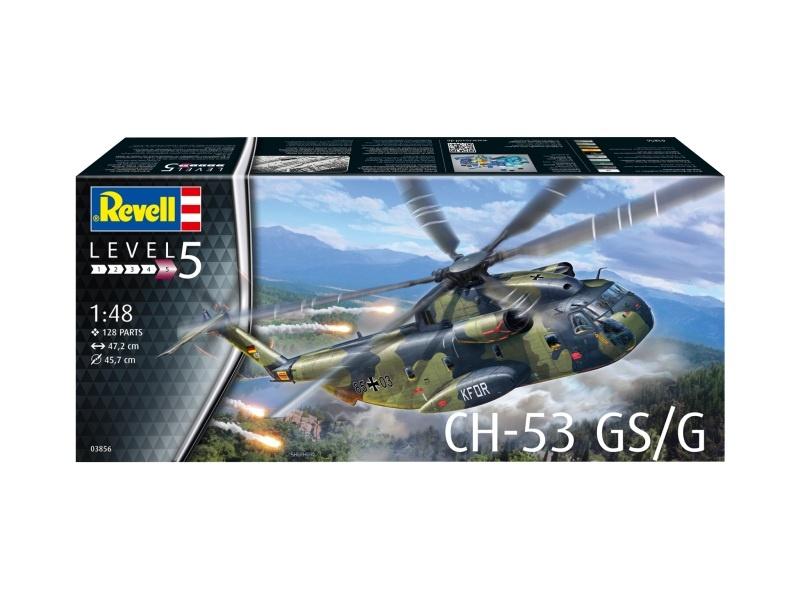CH-53 GS/G Hubschrauber Bausatz 1:48
