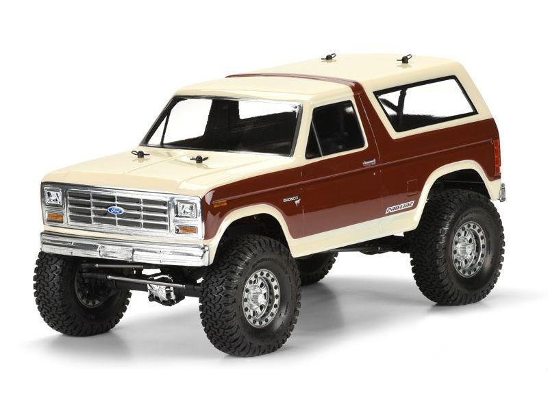 Ford Bronco Karosserie klar für Crawler 313mm Radstand