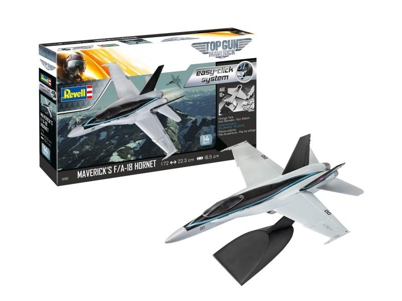 Model Set - Mavericks F/A-18 Hornet Top Gun 1:72 Bausatz