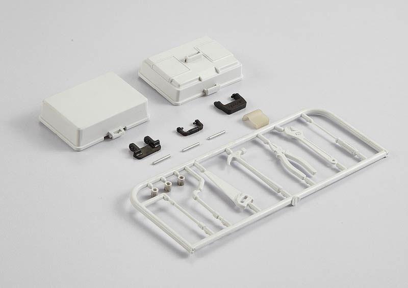 Werkzeugkoffer mit Werkzeug (Plastic)
