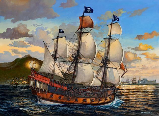 PIRATE SHIP 1:72