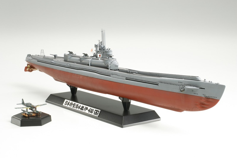 Japan Navy Submarine i-400 U-Boot 1/350
