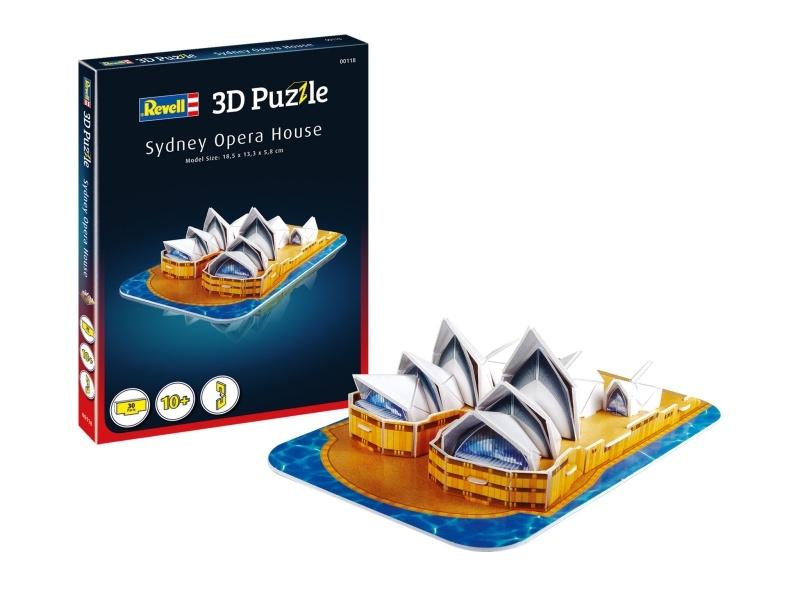 3D Puzzle Sydney Opera House 30 Teile