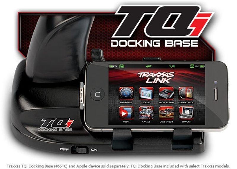 Traxxas Docking base TQi 2.4 GHz transmitter iPod/iPhone