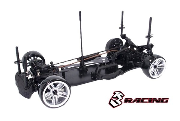 Sakura D4 Sport Black Edition 4WD Drift Car 1:10 Kit