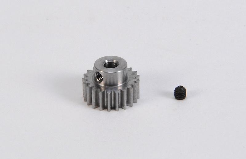 Motorritzel 21 Zähne Modul 0,6 Stahl gehärtet