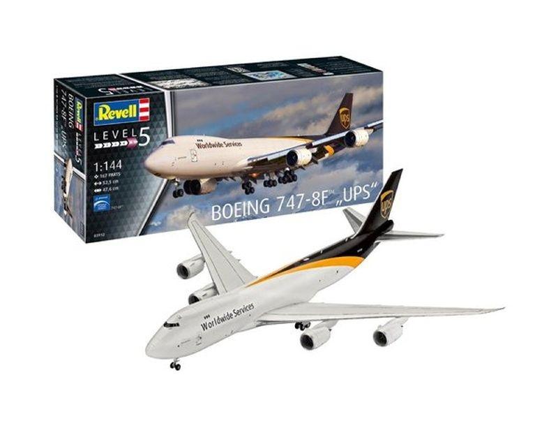 Boeing 747-8F UPS Flugzeug Plastik Bausatz 1:144