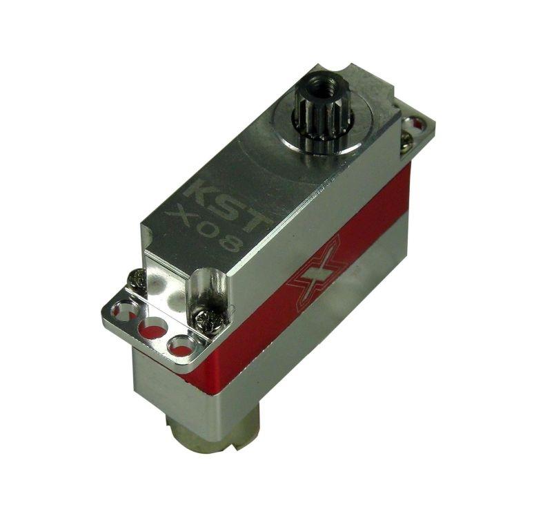 Microservo X08 V5, Voll-Aluminiumgehäuse