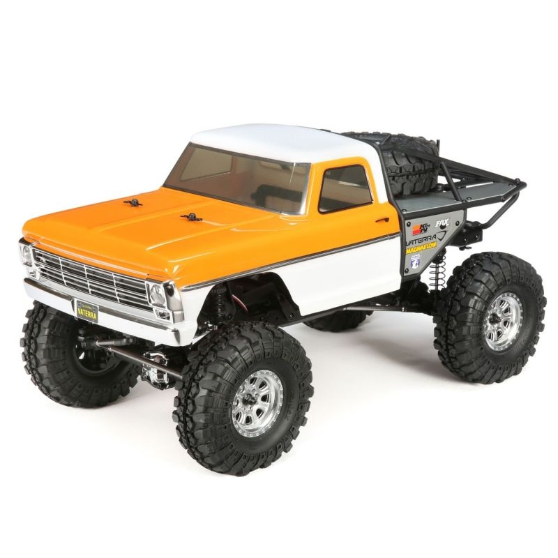 1968 Ford F-100 Ascender 4WD Truck 1/10 Bind and Drive