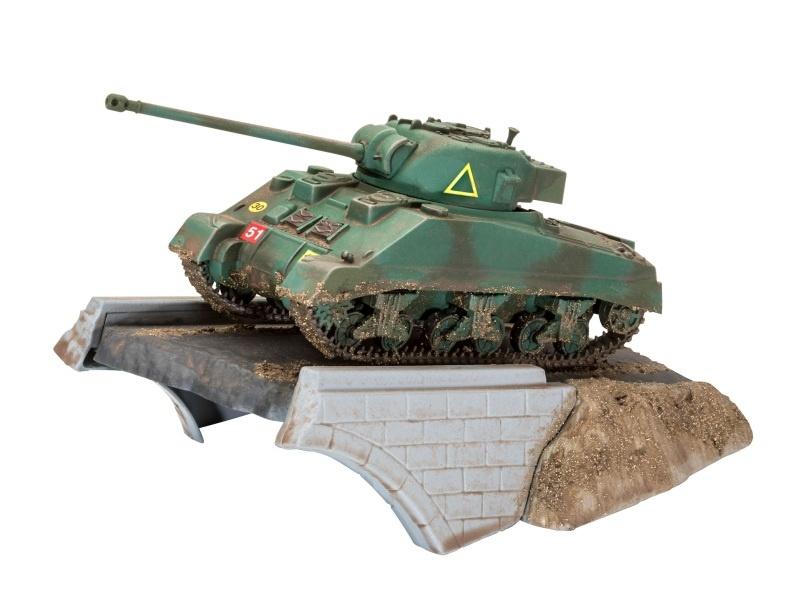 First Diorama Set - Sherman Firefly 1:76