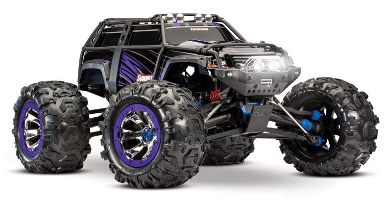 Summit 1:8 Extreme Crawler 2.4Ghz TQI Waterproof Purple