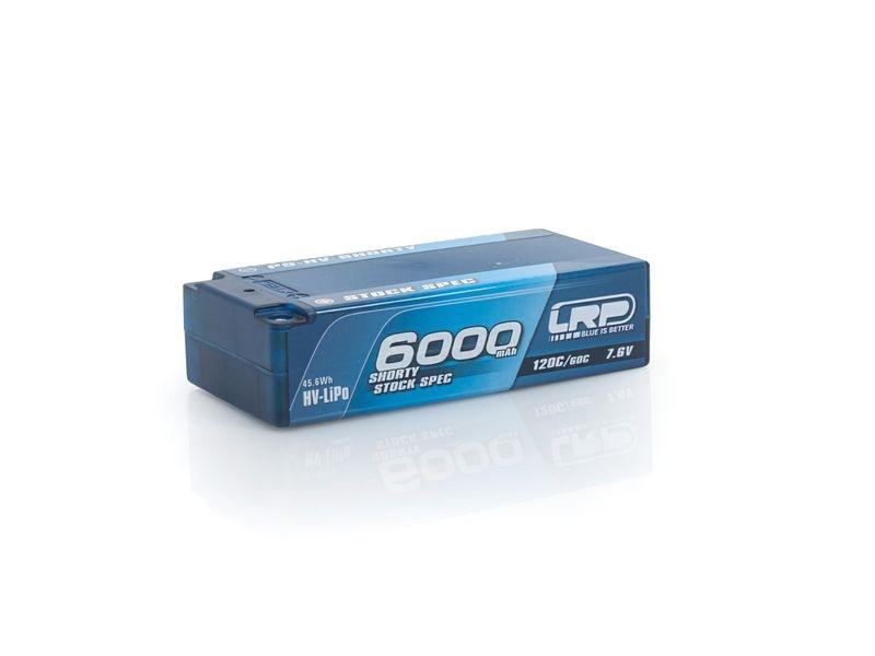 P5-HV Shorty Stock Spec GRAPHENE 6000mAh Hardcase 7.6HV-Lipo