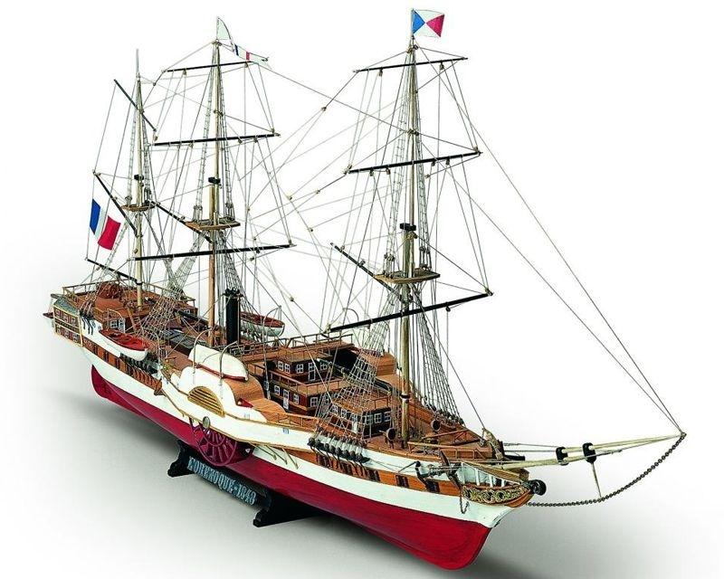 L`Orenoque französische Fregatte 1:100 Holzbausatz Mamoli