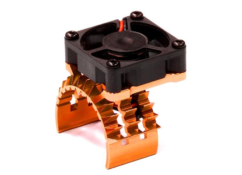 Motor Kühlkörper mit Lüfter für Traxxas Stampede 4X4 & Slash