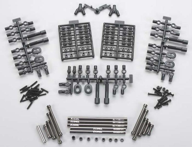 SCX10 TR Aluminum Links Upgrade Set Honcho/Jeep