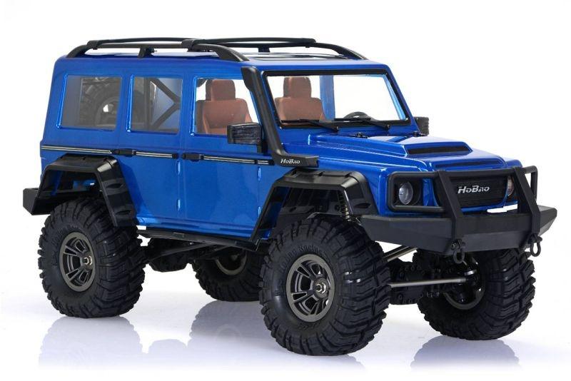 DC1 Trail Crawler 4WD 2-Gang 1/10 Blau lackiert RTR