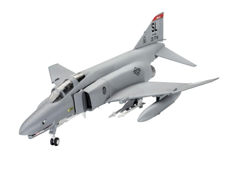 Model Set F-Phantom 1:72 inkl. Pinsel, Kleber, Farben
