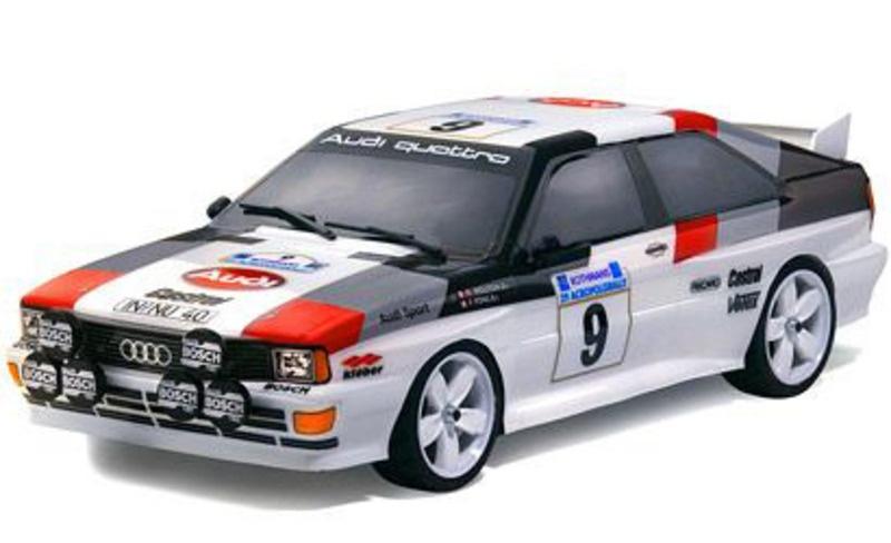 1:10 Karosserie Audi Quattro Gruppe 4