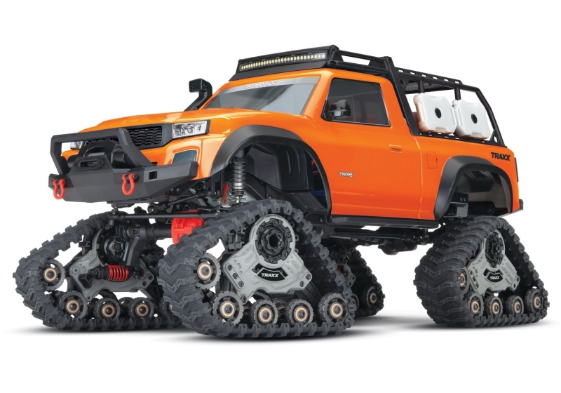 TRX-4 Sport mit All Terrain Traxx Ketten, LED RTR, orange