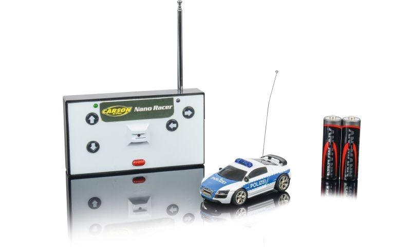 Nano Racer Polizei 1:60 - Mini Fahrzeug 40MHz 100% RTR