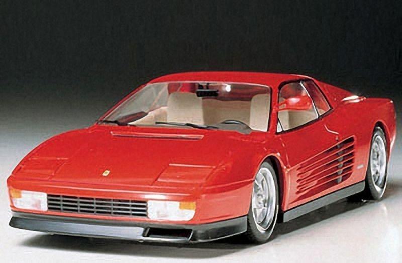 Ferrari Testarossa Bausatz 1:24