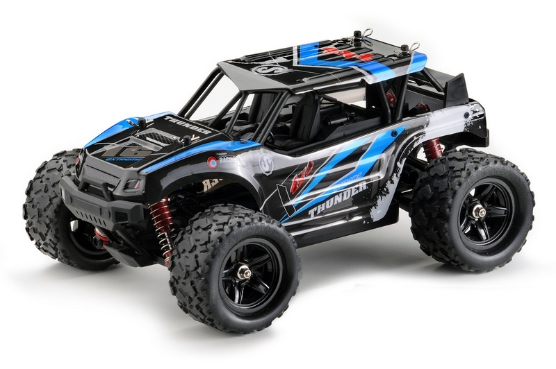 Thunder High Speed 4WD Sand Buggy 1/18 2,4GHz RTR blau